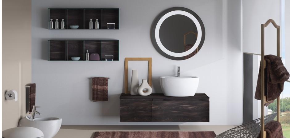 Badmöbel mit Auflagewaschtischen