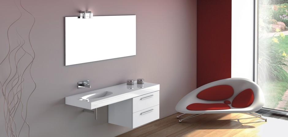 Waschtische ohne Waschtisch-Unterschrank - auch auf Maß